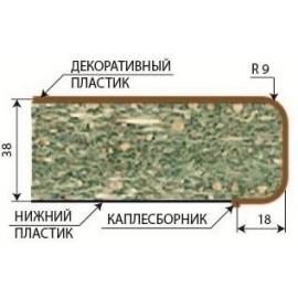 Кромочный материал СКИФ глянец с оверлеем