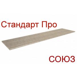 Столешница СОЮЗ Стандарт ПРО - Цвет: Титан 153Г (ГЛЯНЕЦ)