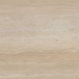 Угловая столешница КЕДР 4-я группа - Цвет: Травертин бежевый ГЛЯНЕЦ 8341/1