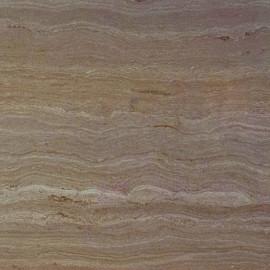 Угловая столешница КЕДР 4-я группа - Цвет: Травертин коричневый ГЛЯНЕЦ 8343/1