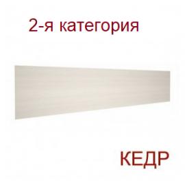 Стеновая панель для кухни КЕДР (2-я категория) - Цвет: Алюминиевая полоса 5014/S