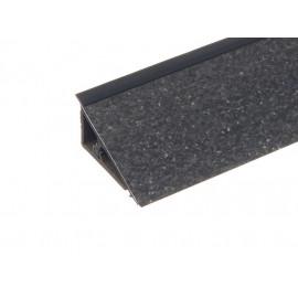 Плинтус PERFETTO-LINE Black stone 5045 (заглушка 219725-005)