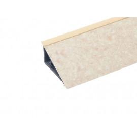 Плинтус PERFETTO-LINE Creamy stone 8047 (заглушка 219725-001)