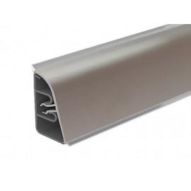 Плинтус угловой пристенный с алюминиевой вставкой РИО L=3050 мм, гладкий