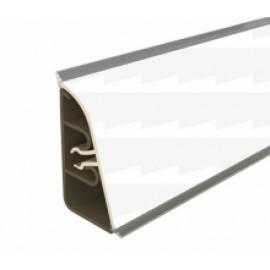 Плинтус для столешницы Thermoplast AP740 Цвет 1105 Белый глянцевый 3 м