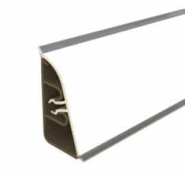 Плинтус для столешницы Thermoplast AP740 Цвет 1110 Белый матовый 3 м