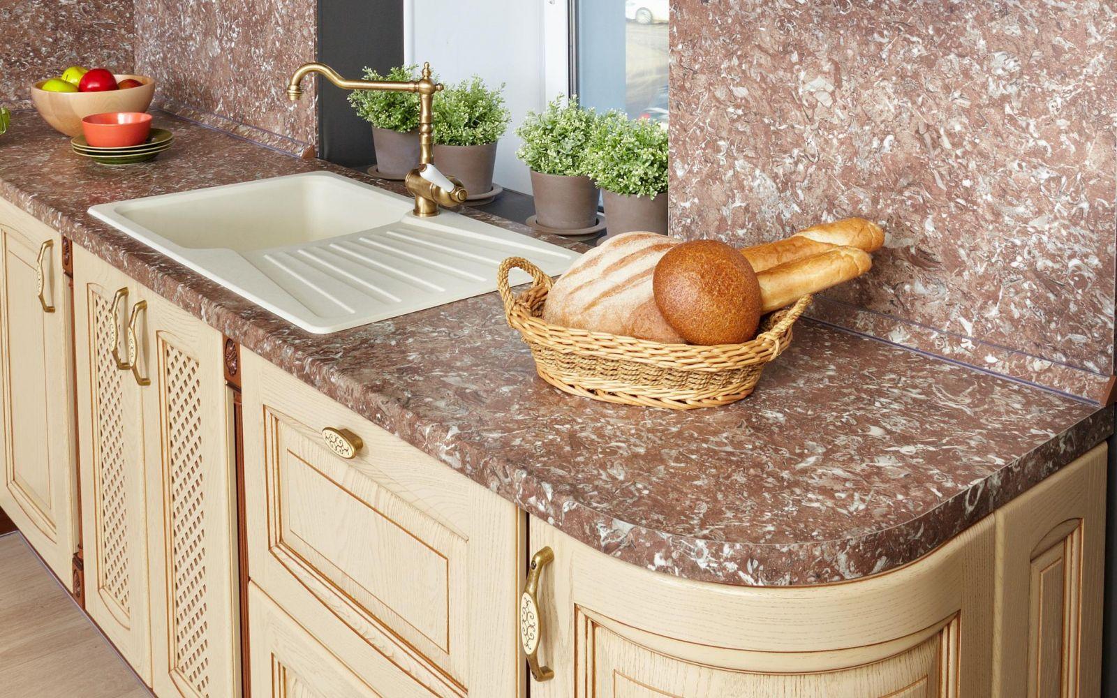 Как установить столешницу на кухне своими руками